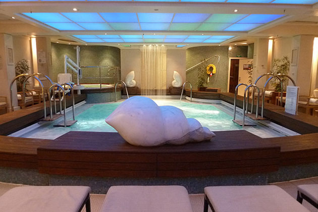 Thalassotherapy pool on celebrity reflections