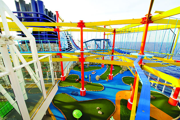 Norwegian Breakaway - Ropes Course
