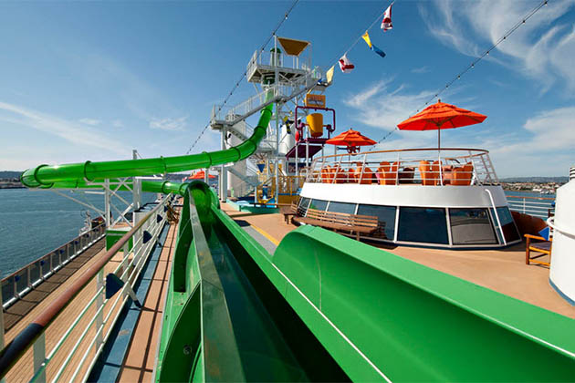 Carnival Legend - Green Thunder
