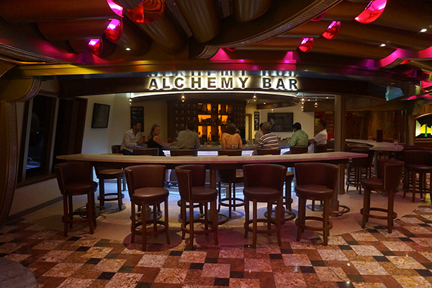 Carnival Freedom - Alchemy Bar