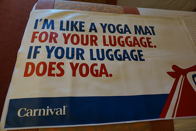 Carnival Freedom - Welcome Mat