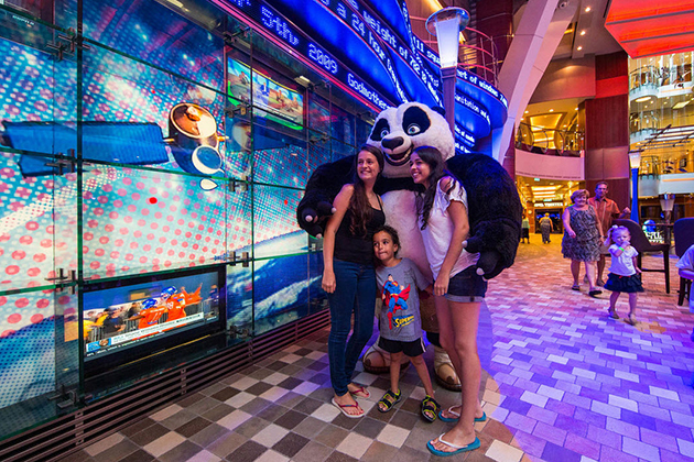 Dreamworks on Oasis of the Seas