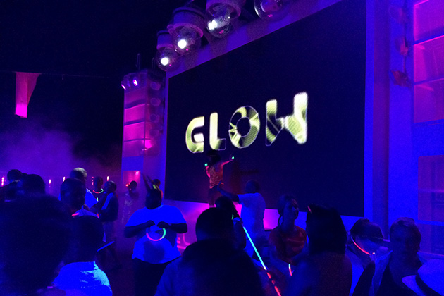 Norwegian Cruise Line's Glow Party