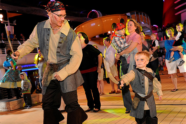 Disney Fantasy - Pirate Night