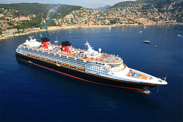 Disney Magic in Villefrance, France