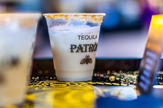 Patron brand tequila