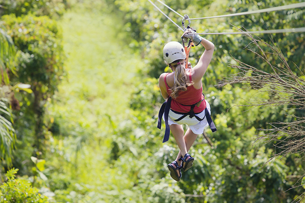 Ziplining Excursion