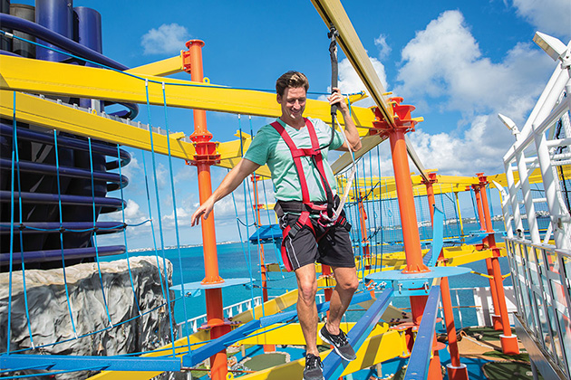 Norwegian Escape - Ropes Course