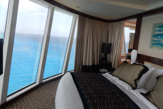 Forward vs aft a cabin comparison cruise critic for Balcony in cruise ship