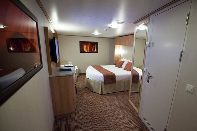 Inside Cruise Cabin