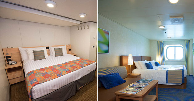 Inside Vs Outside Cruise Cabins A Cabin Comparison Cruise Critic - Rooms on cruise ships
