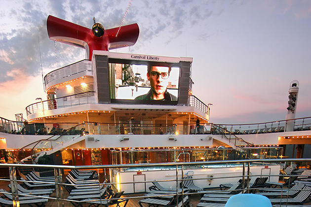 Carnival Liberty - Seaside Theater