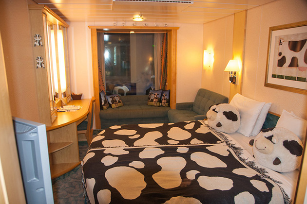 Liberty of the Seas - Cow Cabin