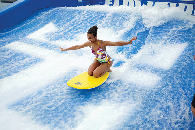 Liberty of the Seas - FlowRider