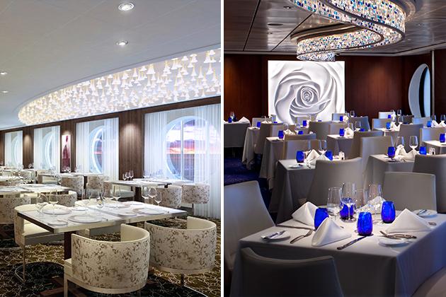Specialty restaurants celebrity summit