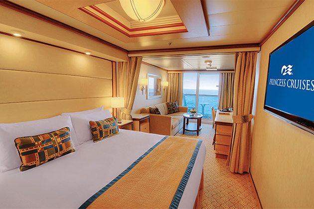 Cruise mini suite vs suite a cabin comparison cruise for Cruise balcony vs suite