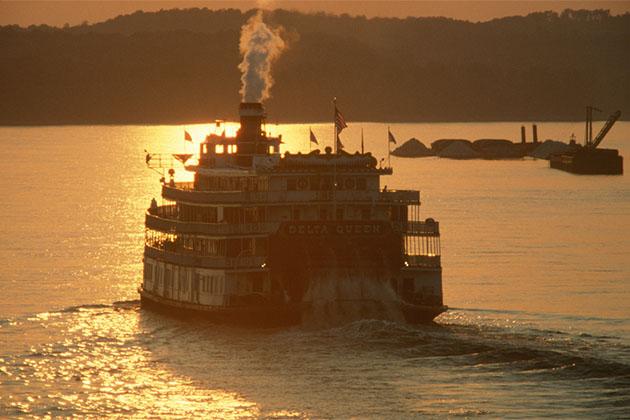 Delta Miss Queen steamboat
