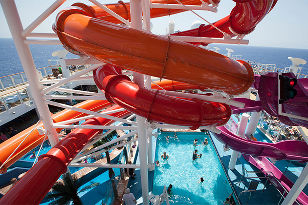 Waterpark on Norwegian Getaway