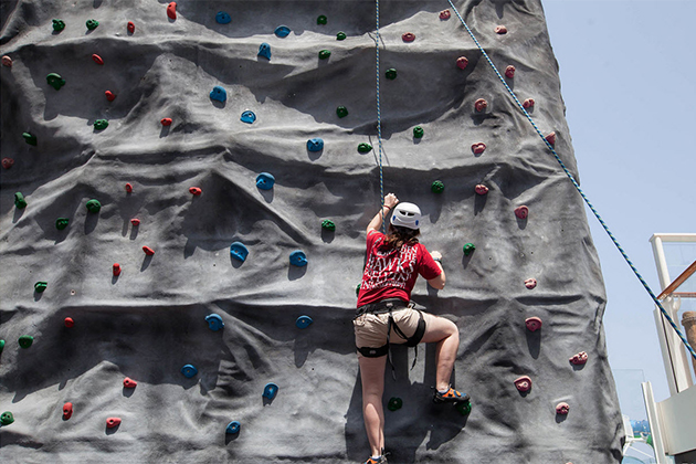 Rock Wall on Norwegian Getaway