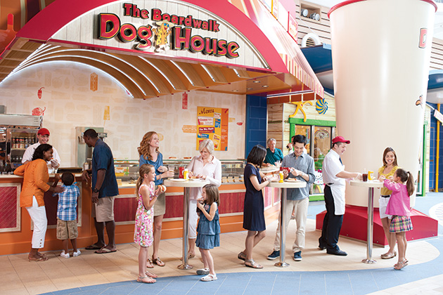 Boardwalk Donut Shop on Oasis of the Seas