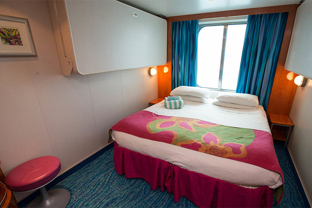 Image gallery ocean view room cruise for Cruise balcony vs suite