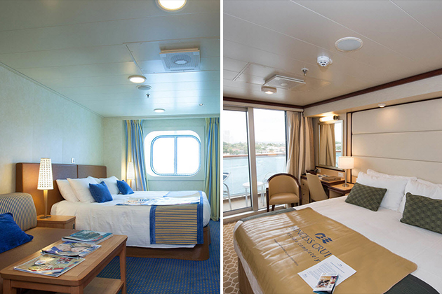 Oceanview vs balcony cabins a cabin comparison cruise for Cruise balcony vs suite