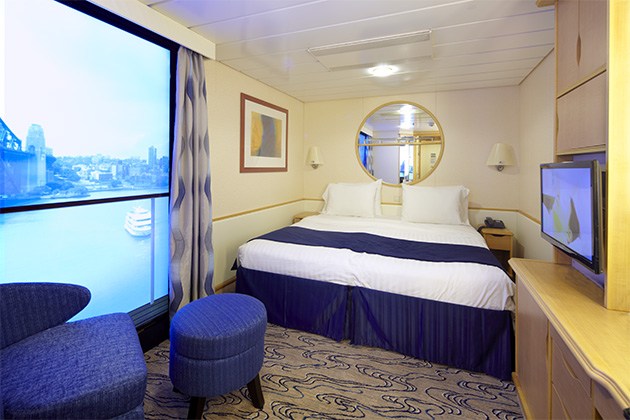 P o cruises vs royal caribbean u k cruise critic for P o cruise bedrooms