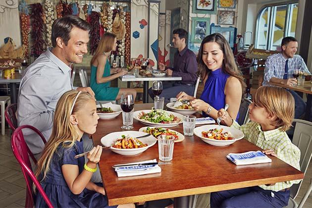 Jamie s ItalianP O Cruises vs  Royal Caribbean U K    Cruise Critic. P O Ventura Dining Times. Home Design Ideas