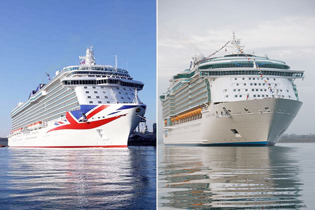 P&O Cruises vs. Royal Caribbean