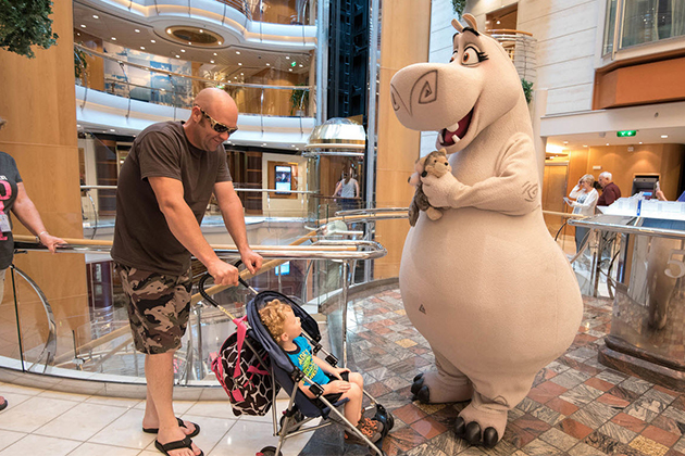 Characters on Freedom of the Seas
