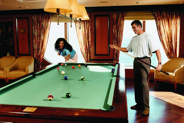 Radiance of the Seas - Billiards