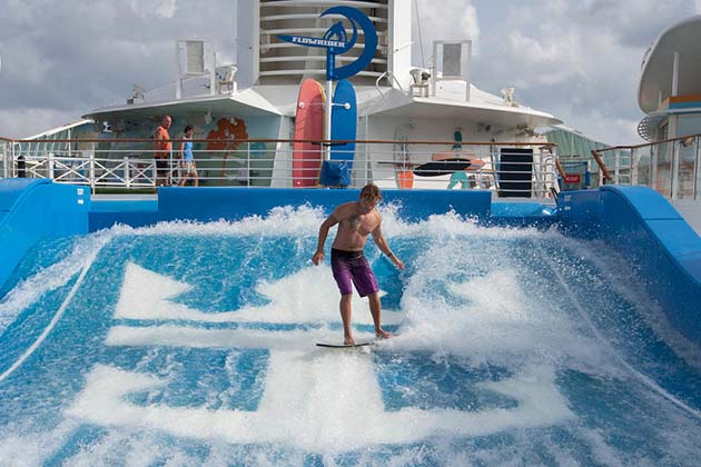 Voyager of the Seas - Flowrider