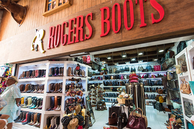 Rogers Boots in Cozumel