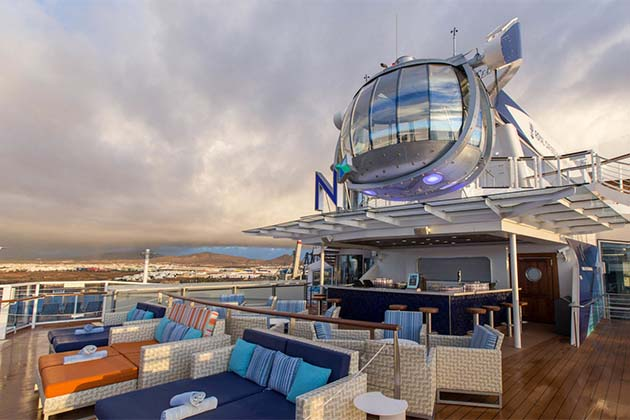 Anthem of the Seas - North Star Bar