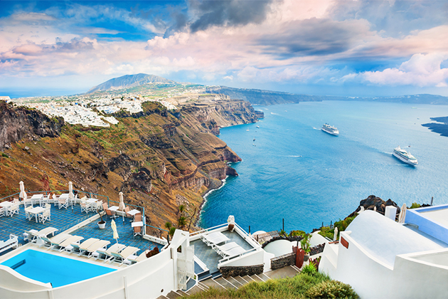 santorini island greece photo olga gavrilova shutterstock