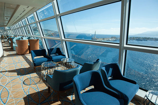 Celebrity Solstice - Sky Observation Lounge