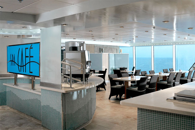 Celebrity Summit - Aqua Spa Cafe