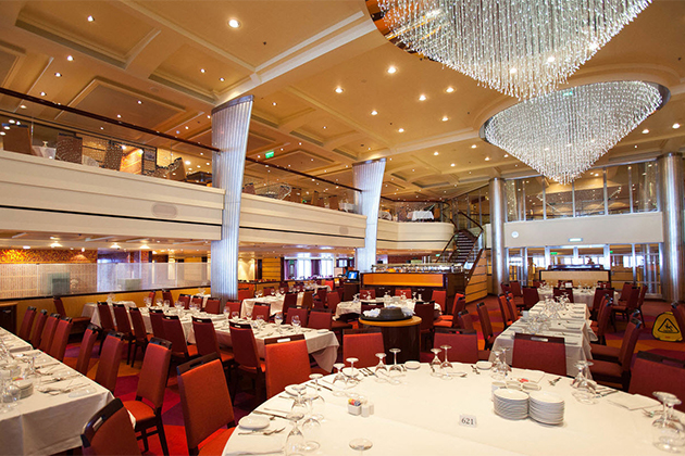 Blush Restaurant on Carnival Breeze
