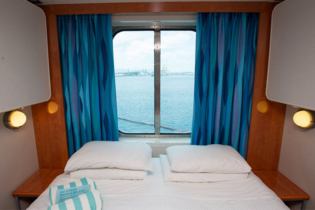 Upper Vs Lower Deck A Cabin Comparison Cruise Critic - Where to stay on a cruise ship to avoid seasickness