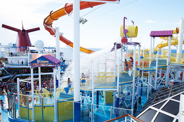 SplashZone on Carnival Breeze