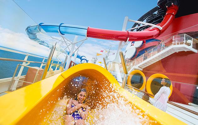 Disney Magic's AquaDunk