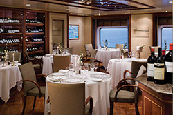 Le Champagne - photo compliments of Silversea Cruises