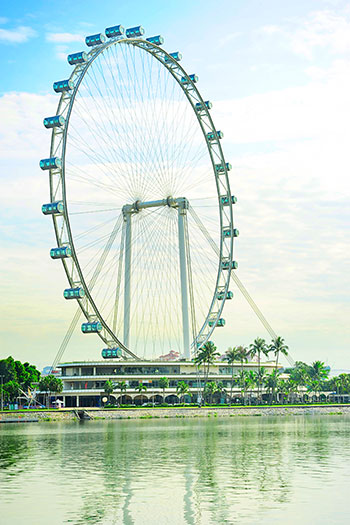 Singapore Flyer - the Largest Ferris Wheel in the World - photo courtesy of joyfull/Shutterstock