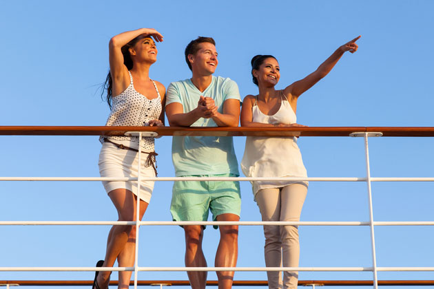 Young people pointing on a ship - photo courtesy of michaelyoung/Shutterstock