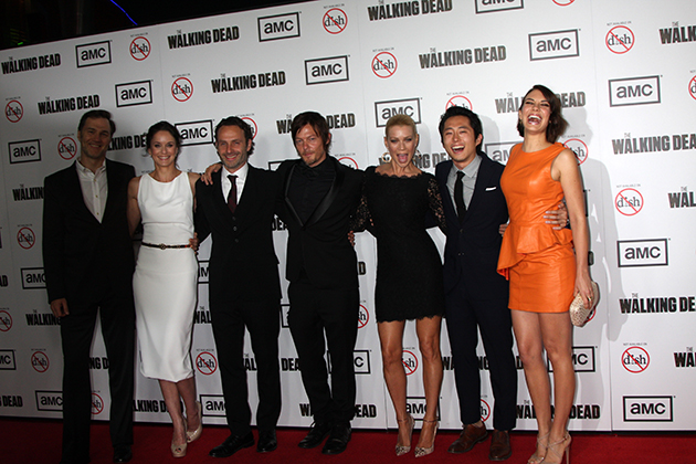 The Walking Dead TV show cast