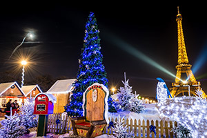 Christmas Market in Paris - photo courtesy of Felix-Emanuel Catana/Shutterstock