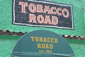Tobacco Road to Feature on New Norwegian Cruise Line Ship