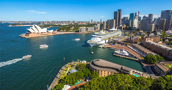 Australia Welcomes First International Cruise Ship Of