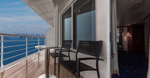 Celestyal cruises installs 43 new balconies on celestyal for Balcony upgrade