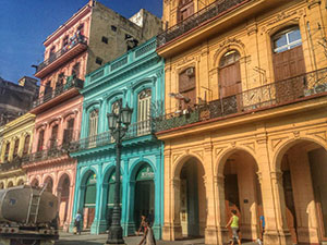 Spanish architecture in Havana